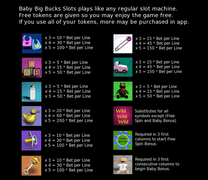 Tips for Baby Big Bucks Slots