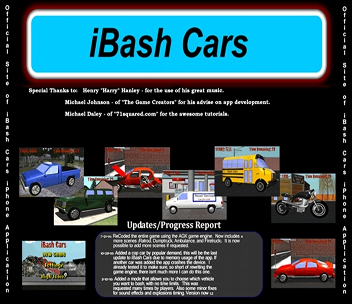 Info about iBash Cars