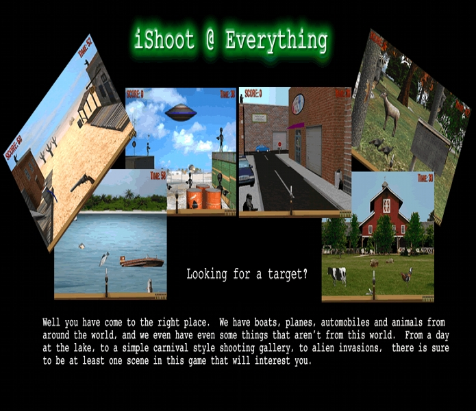 Info about iShoot at Everything